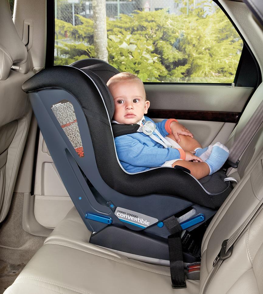 Asientos de seguridad en el auto para los ni os son una for Asiento de bebe para auto